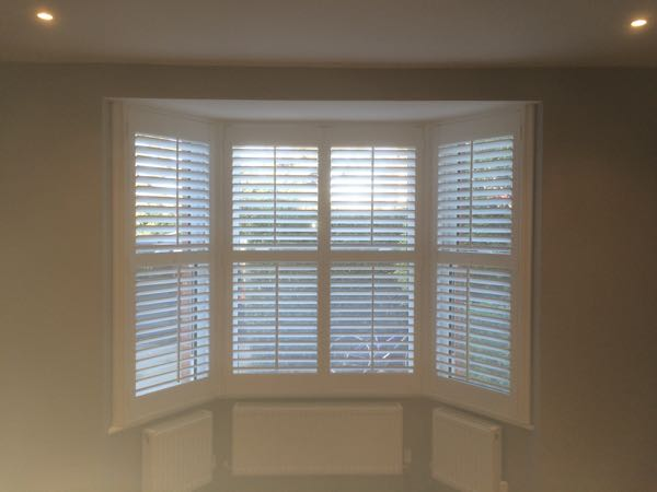 Fitting Shutters in a bay window