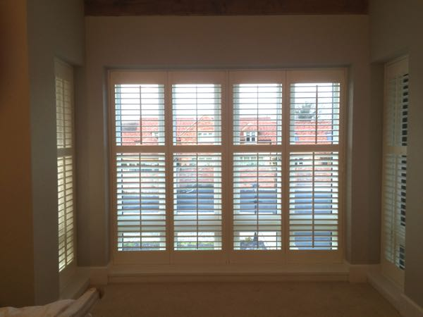 Plantation Shutters 64mm louvre shutters