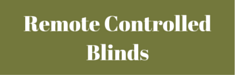 Remote Controlled Blinds Affordable Shutters Deepcut